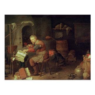El taller del alquimista tarjetas postales
