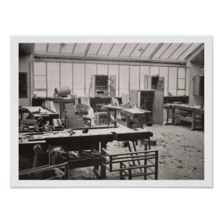 El taller del carpintero, de los talleres del th poster