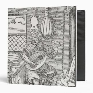 """El taller del fabricante del instrumento, c.1570 carpeta 1 1/2"""""""