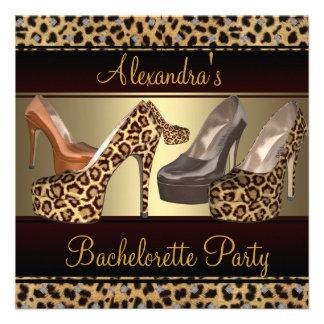 El talón del fiesta de Bachelorette hola calza el Comunicados