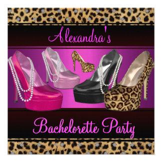 El talón del fiesta de Bachelorette hola calza ros Anuncio