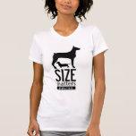 El tamaño importa 2-Sided Camiseta