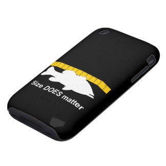"""El """"tamaño importa"""" - pesca de la lubina divertida iPhone 3 tough fundas"""