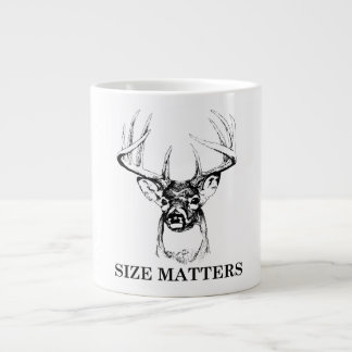 El tamaño importa taza enorme taza grande