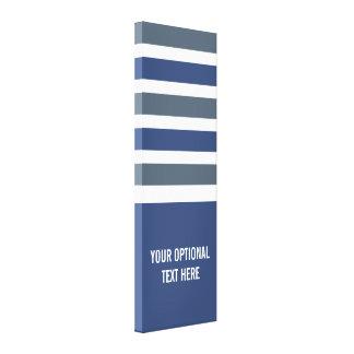 El tamaño y el texto de encargo del modelo de las lona estirada galerías