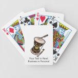 el tambor dos dirigió el tambor turned.png oscuro  baraja cartas de poker
