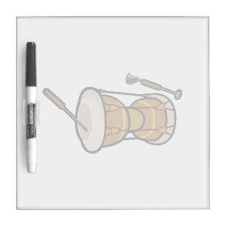el tambor dos dirigió la mano drum.png pizarra blanca