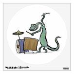 El tambor que juega el lagarto