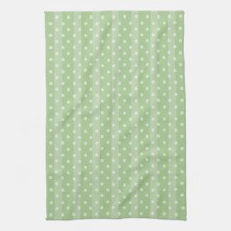 El tango de la caída puntea la toalla de té verde
