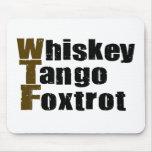 El tango del whisky Foxtrot Alfombrillas De Ratón