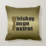 El tango del whisky Foxtrot Cojines