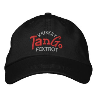 El tango del whisky Foxtrot gorra del bordado Gorra De Beisbol Bordada