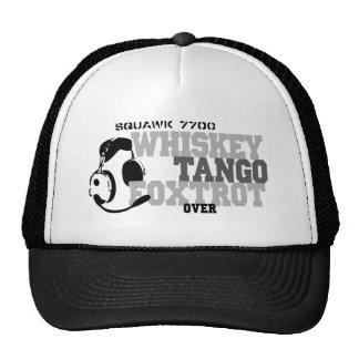 El tango del whisky Foxtrot - humor de la aviación Gorro