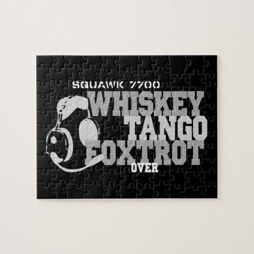 El tango del whisky Foxtrot - humor de la aviación Rompecabezas