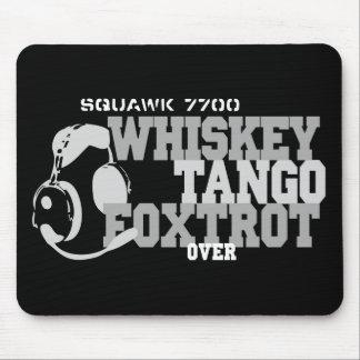 El tango del whisky Foxtrot - humor de la aviación Tapete De Raton