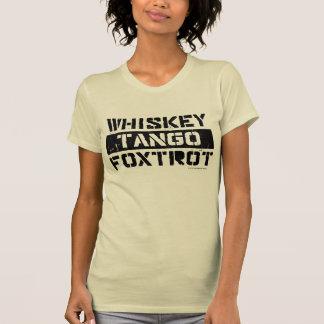 El tango del whisky Foxtrot la camiseta de las muj