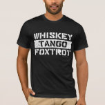 El tango del whisky Foxtrot la camiseta de los
