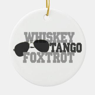 El tango del whisky Foxtrot - los vidrios de sol Ornamentos Para Reyes Magos