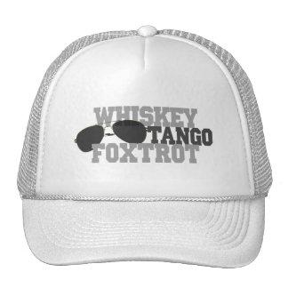 El tango del whisky Foxtrot - los vidrios de sol Gorro De Camionero