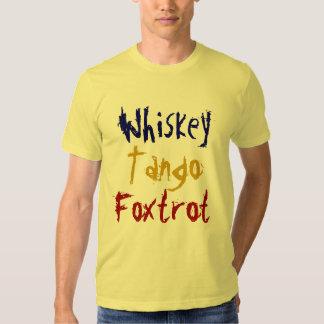 El tango del whisky Foxtrot Playera
