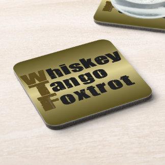 El tango del whisky Foxtrot Posavasos De Bebidas