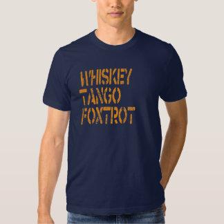 El tango del whisky Foxtrot Remera
