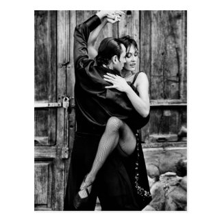 El tango tarjeta postal