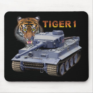 El tanque alemán del tigre 1 alfombrilla de ratón