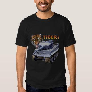 El tanque alemán del tigre 1 polera