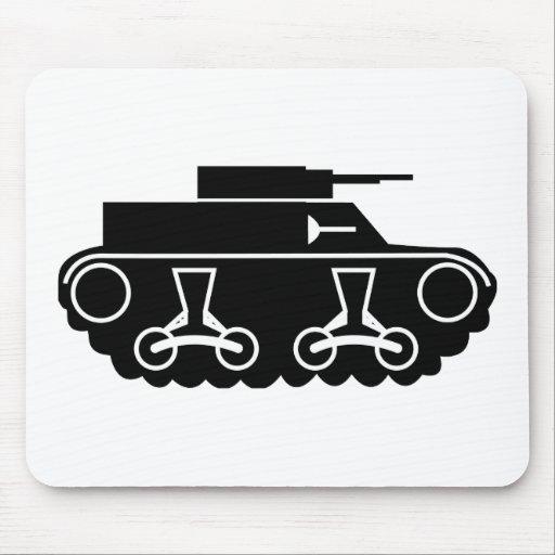 El tanque alfombrillas de ratones