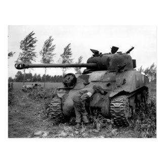 El tanque británico de la luciérnaga de WWII KIA,  Tarjeta Postal