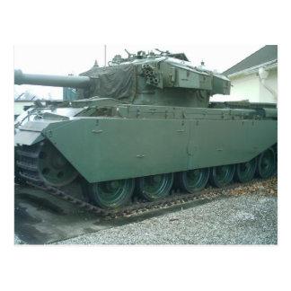 El tanque británico postales