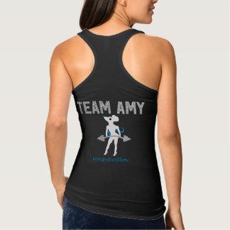 El tanque cabido Amy del equipo Playera Con Tirantes