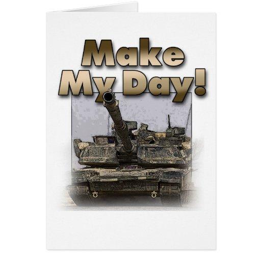 ¡El tanque de Abrams - haga mi día! Felicitaciones