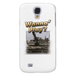 ¿El tanque de Abrams - quiera jugar? Funda Para Galaxy S4