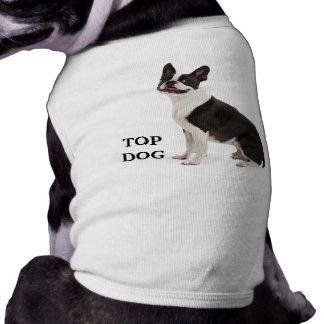 El tanque de encargo hermoso del perro superior de ropa de mascota