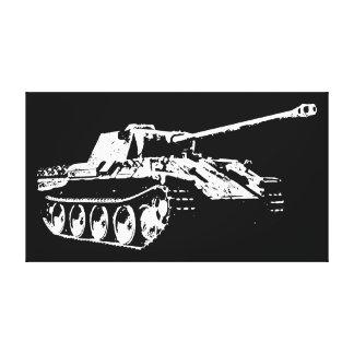 El tanque de la pantera impresión en lienzo