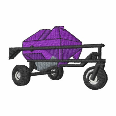 El tanque de la sembradora del aire