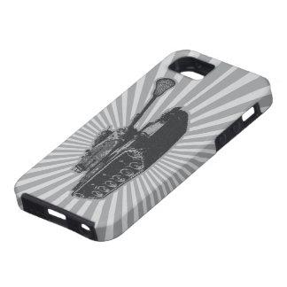 El tanque de LaCrosse - gris iPhone 5 Funda