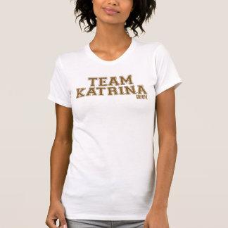 El tanque de las mujeres de Katrina del equipo Playeras