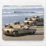 El tanque de M1A1 Abrams Alfombrilla De Raton