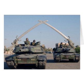 El tanque de M1A1 Abrams Felicitacion