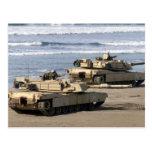 El tanque de M1A1 Abrams Postal