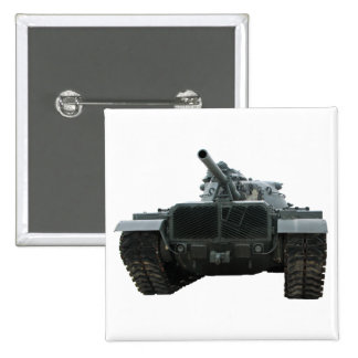 El tanque de M60 Patton Pin Cuadrado