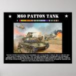 El tanque de M-60 Patton Posters