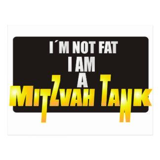 El tanque de Mitzvah Tarjeta Postal