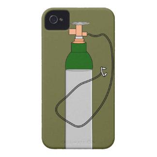 El tanque de oxígeno respiratorio de la terapia iPhone 4 Case-Mate coberturas