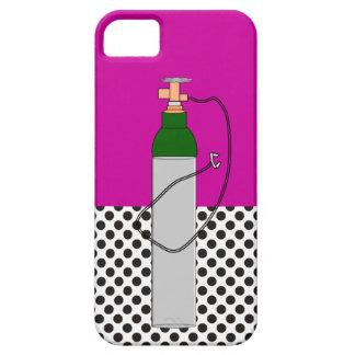 El tanque de oxígeno respiratorio de la terapia iPhone 5 cobertura