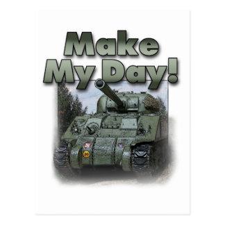 ¡El tanque de Sherman - haga mi día! Postales