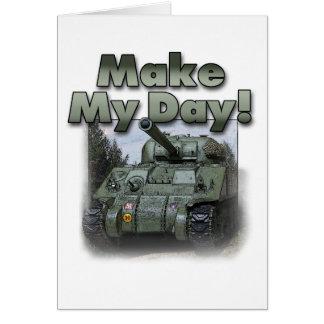 ¡El tanque de Sherman - haga mi día! Felicitaciones